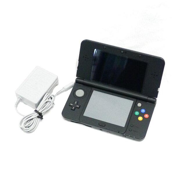 【Nintendo】ニンテンド− 3DS 本体(ブラック) ユニセックス ゲームハード【中古】