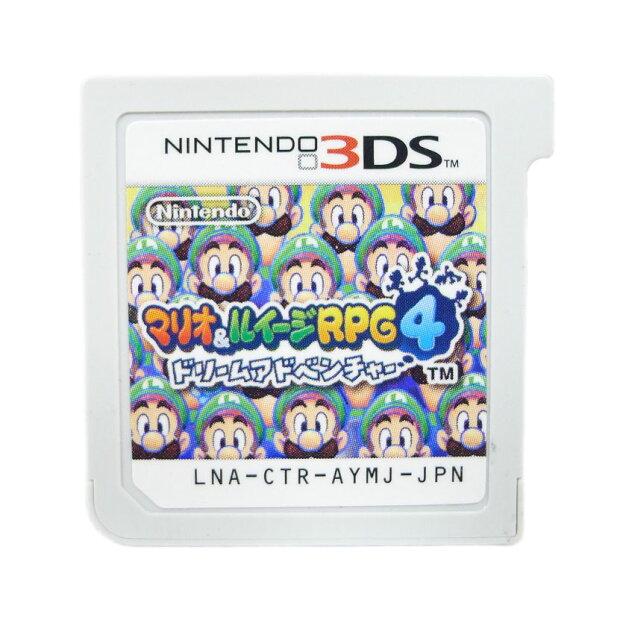 【Nintendo】ニンテンド− 3DS マリオシリーズ 3本セット スーパーマリオ3Dランド マリオ&ルイージRPG4 ユニセックス ゲームソフト【中古】Aランク