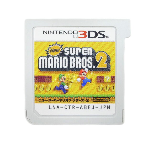 【Nintendo】ニンテンド− 3DS マリオシリーズ 2本セット マリオカート スーパーマリオブラザーズ2 ゲームソフト【中古】Aランク