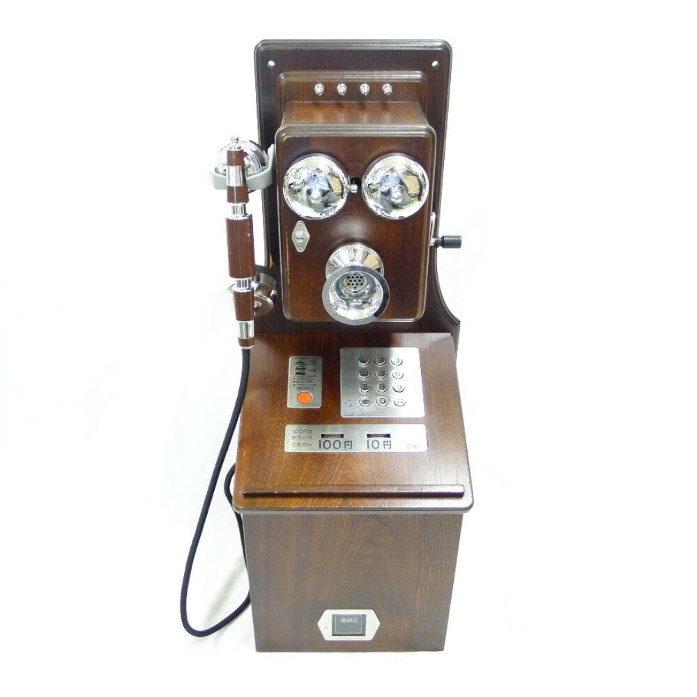 【NTT】エヌ・ティ−・ティー クラシックピンクTEL 電話機 公衆電話 ユニセックス インテリアその他【中古】