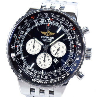 BRIGHT环导航器计时器遗产A35350不锈钢银子自动卷人钓樟属盘手表A等级