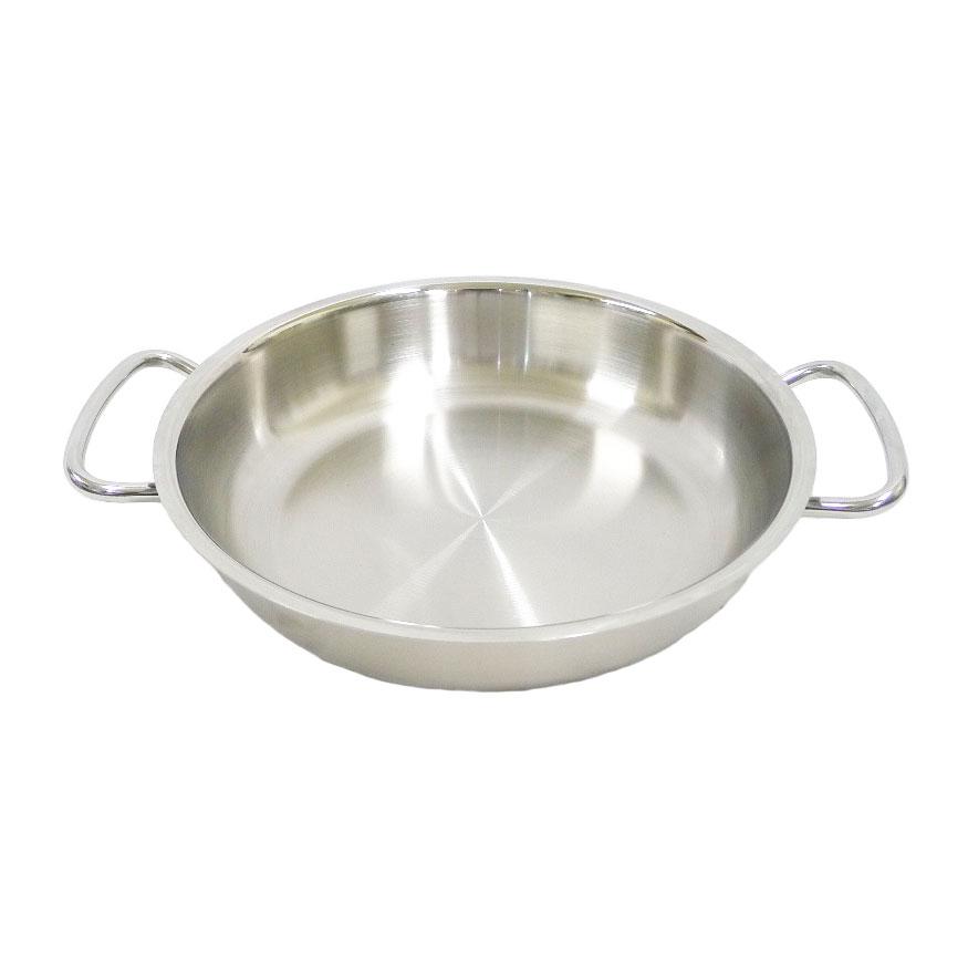 【FISSLER】フィスラー サーブパン 24cm 両手鍋/ステンレス製 84-358-24-100 ユニセックス 食器【中古】ランク