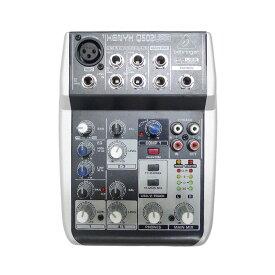 【BEHRINGER】ベリンガー USBオーディオミキサー XENYX Q502USB ユニセックス 楽器アクセサリー【中古】