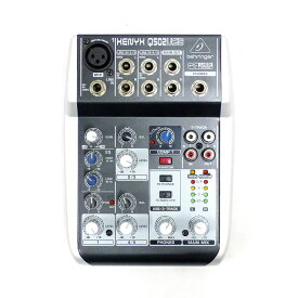 【BEHRINGER】ベリンガー USBオーディオミキサー XENYX Q502USB 楽器アクセサリー【中古】A-ランク
