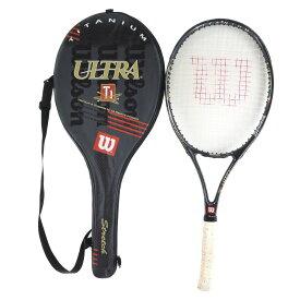【wilson】ウィルソン テニスラケット ULTRA Ti TITANIUM&GRAPHITE OVERSIZE Stretch その他雑貨【中古】