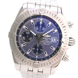 【BREITLING】ブライトリング クロノマットエボリューション A13356 ステンレススチール 自動巻き メンズ グレー文字盤 腕時計【中古】Aランク