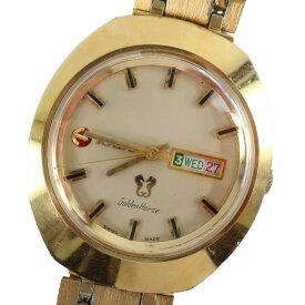 【RADO】ラドー ニューゴールデンホース 自動巻き(手巻付き) ゴールド文字盤 腕時計【中古】B-ランク