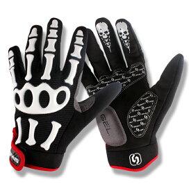 サイクリンググローブ SPAKCT サイクル グローブ 男女兼用 耐衝撃 ジェルパッド付き 手袋 滑り止め装置 S/M/L/XL/XXL