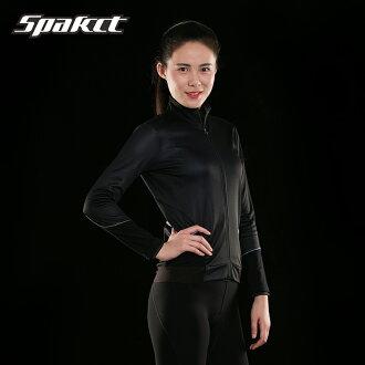 供供周期服裝SPAKCT雪周期運動衫女士女性使用的背後起毛使用秋天冬天的顔色/黑黑色道路摩托車/騎自行車/戶外事情LAN服裝冬天防風防寒保溫YKK拉鏈S/M/L/XL/XXL s17c12r