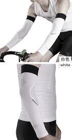 アームカバー SPAKCT 麒麟 冷感 UVカット 両腕2枚組 日焼け防止 男女兼用 サイクル/サイクリング/ランニング /アウトドア/運転用 白&黒