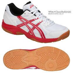 アシックス:asicsコートラッシングCOURTRUSHINGTOB517靴幅:2Eバドミントンシューズ