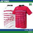ヨネックス:YONEX シャツ 10171JJUNIOR:ジュニア ゲームウェア ゲームシャツ バドミントン テニス バドミントンウェア・テニスウェア 日本バド...