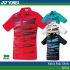 ヨネックス:YONEX シャツ 10174 MEN:男性用 ポロシャツゲームウェア ゲームシャツバドミントン テニス バドミントンウェア・テニスウェア 日本バドミントン協会審査合格品 サイズ:SS,S,M,L,O,XO