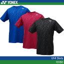 ヨネックス:YONEX シャツ 10180 UNISEX:男女兼用 ゲームウェア ゲームシャツバドミントン テニス バドミントンウェア・テニスウェア 日本バドミ...