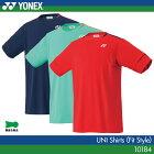 ヨネックス:YONEX シャツ(フィットスタイル) 10184 UNISEX:男女兼用 ゲームウェア ゲームシャツバドミントン テニス バドミントンウェア・テニスウェア 日本バドミントン協会審査合格品 サイズ:SS,S,M,L,O,XO
