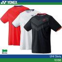 ヨネックス:YONEX シャツ 10188 UNISEX:男女兼用 ゲームウェア ゲームシャツバドミントン テニス バドミントンウェア・テニスウェア 日本バドミ...