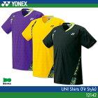 ヨネックス:YONEX シャツ(フィットスタイル) 12142 UNISEX:男女兼用 ゲームウェア ゲームシャツ バドミントンウェア テニスウェア 日本バドミントン協会審査合格品 サイズ:SS,S,M,L,O,XO