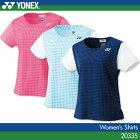ヨネックス:YONEX シャツ 20335 レディース 女性用 ゲームウェア ゲームシャツ バドミントン テニス バドミントンウェア・テニスウェア 日本バドミントン協会審査合格品サイズ:S,M,L,O,XO