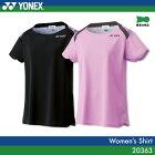 ヨネックス:YONEX シャツ 20363 レディース 女性用 ゲームウェア ゲームシャツ バドミントン テニス バドミントンウェア・テニスウェア 日本バドミントン協会審査合格品サイズ:S,M,L,O,XO