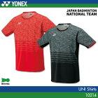 ヨネックス:YONEX シャツ 10214 UNISEX:男女兼用 ゲームウェア ゲームシャツ バドミントン テニス バドミントンウェア テニスウェア  日本バドミントン協会審査合格品
