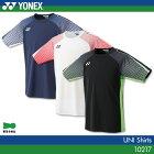 ヨネックス:YONEX シャツ 10217 UNISEX:男女兼用 ゲームウェア ゲームシャツ バドミントン テニス バドミントンウェア テニスウェア  日本バドミントン協会審査合格品