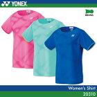 ヨネックス:YONEX シャツ 20310 レディース 女性用 ゲームウェア ゲームシャツ バドミントン テニス バドミントンウェア テニスウェア サイズ:S,M,L,O,XO 日本バドミントン協会審査合格品