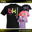 NEWカラー登場!!black knight:ブラックナイト BKTシャツ(bkSTA)T-12216  バドミントン Tシャツ  ネコポス送料…