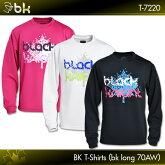 ブラックナイト:blackknightBKTシャツ(bkロング70AW)T-7220ロングスリーブTシャツバドミントンテニススカッシュバドミントンウェアテニスウェアTシャツ長袖