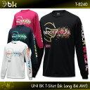 ブラックナイト black knight BK Tシャツ(bkロング84AW)T-8240 ロングスリーブTシャツ バドミントン バドミントンウェア バドミント...