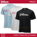ウイルソン:Wilson 専門店会オリジナルS/J Tシャツ WRBJ625 UNISEX:男女兼用 Tシャツ バドミントンTシャツ バドミントン限定Tシャツ ...