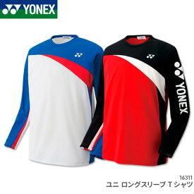 5ab9ac2c31c2ec ホワイト M O XO 有ります ヨネックス:YONEX ロングスリーブTシャツ 16311 UNISEX:男女