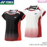 ヨネックス:YONEXゲームシャツ20447Yレディース女性用バドミントンテニスユニフォーム受注会限定商品