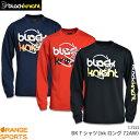 【最終入荷 30%OFF】ブラックナイト black knight BK Tシャツ(bkロング72AW) T-7222 ユニ 男女兼用 ロングスリーブTシ…
