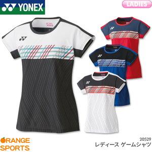 ヨネックス YONEX レディース ゲームシャツ 20529 レディース 女性用 ゲームウェア ユニフォーム バドミントン テニス 日本バドミントン協会審査合格品
