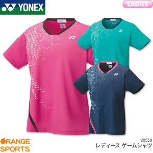 ヨネックス YONEX レディース ゲームシャツ 20558 レディース 女性用 ゲームウェア ユニフォーム バドミントン テニス 日本バドミントン協会審査合格品