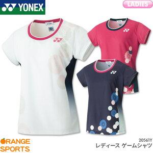 ヨネックス YONEX レディース ゲームシャツ 20561Y レディース 女性用 ゲームウェア ユニフォーム バドミントン テニス 日本バドミントン協会審査合格品