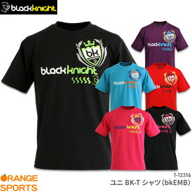 40%OFF ブラックナイト black knight BKTシャツ(bkEMB)T-12316 ユニ 男女兼用 バドミントンTシャツ セール品につきキャンセル・交換・返品不可
