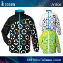ゴーセン:GOSEN ウィンドウォーマージャケット(裏起毛) UY1506 UNISEX:男女兼用 ウィンドウォーマーバドミントンウェア テニスウェア