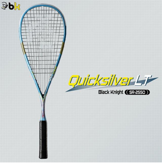 black knight:ブラックナイト クイックシルバーLT Quick silver LT SR-2550 スカッシュラケット 【送料無料!!】