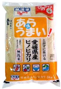 無洗米 あらうまい ヒノヒカリ10kg(5kg×2袋) 令和2年愛媛県産精米