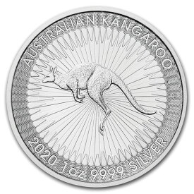 2020 オーストラリア カンガルー銀貨 1オンス 41mmクリアーケース付き 新品未使用