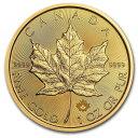 2020 カナダ メイプルリーフ金貨 1オンス (30mmクリアケース付き) 新品未使用