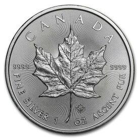 2020 カナダ メイプルリーフ銀貨 1オンス 38mmクリアーケース付き 新品未使用