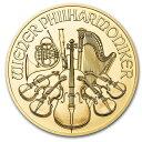 2020 オーストリア ウィーン金貨 1/4オンス(22.5mmクリアーケース付き) 新品未使用