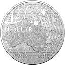 2020 オーストラリア 南十字星の下 1ドル銀貨 1オンス ■【5枚】セット 40mmクリアケース付き 新品未使用