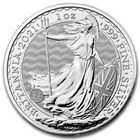 2021 イギリス ブリタニア銀貨 1オンス (39mmクリアーケース付き) 新品未使用