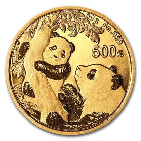 2021 中国 パンダ 金貨 30グラム 500元 真空パック入り 新品未使用