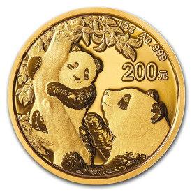 2021 中国 パンダ 金貨 15グラム 200元 真空パック入り 新品未使用