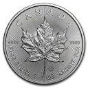 2021 カナダ メイプルリーフ銀貨 1オンス 38mmクリアーケース付き 新品未使用 (1月下旬以降発送予定)