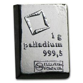 1グラム Valcsmbi社 パラジウム
